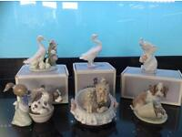 6pieces of lladro