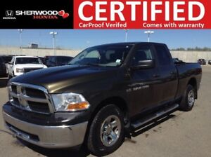 2012 Ram 1500 ST 4x4| REMOTE START| BLUETOOTH| SPARY BED LINER