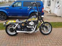 Custom Harley Dyna