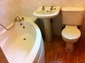 Free Bath, Toilet & Sink Bathroom Suite