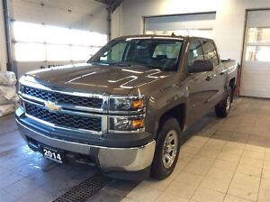 2014 Chevrolet Silverado 1500 WT 4X4 - One owner - No Accidents!