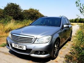 MERCEDES BENZ C200 SE CDI BLUEEFFICIENCY ESTATE 2011 IMMACULATE CONDITION