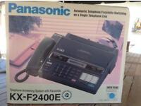 Panasonic fax machine model KX-F2400E