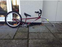 Spokey Joe add-a-bike trailer