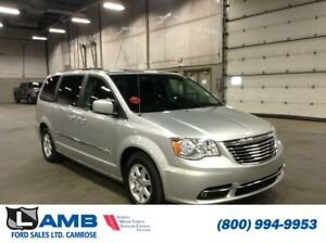 2012 Chrysler Town  Country Touring with Bluetooth, DVD's and Na