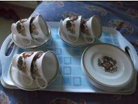 WEDGEWOOD 18 PIECE TEA SET