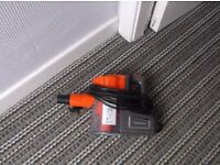 Goodmans hand held mains vacuum cleaner with floor extension
