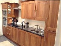 Kitchen Units, Mahogony finish , Excellent condition 3.6m x 2.1m
