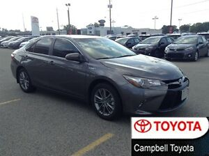 2016 Toyota CAMRY HYBRID SE ONLY 35OO KM'S HEATED CLOTH HYBRID