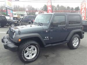 2007 Jeep Wrangler X,6 SPPED MANUAL,FREE WINTER TIRE PACKAGE INC
