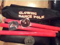 Glowing Dance Pole
