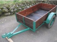 Car Trailer. 3Ft x 5Ft 6.5 inches