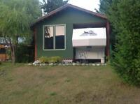 Cabin for sale on leased lot