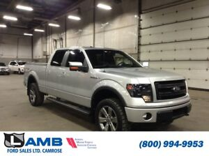2014 Ford F-150 FX4 4x4 with FX Luxury Package, Moonroof and Nav