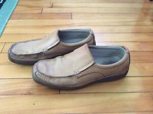 MENS SKECHERS LEATHER SLIP ONS SHOES West Island Greater Montréal image 4