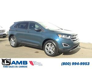 2016 Ford Edge Titanium AWD 2.0L Ecoboost Moonroof Navigation He