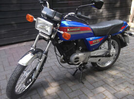 Kawasaki KH125 K3 Classic Motorbike Motorcycle 1985