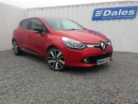 Renault Clio Dynamique S Nav 1.5 dCi 90 Diesel (flame red) 2014