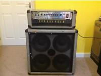 Marshall Silver Jubilee 300 Watt Bass Amp Head and Cab For Sale - Model - 3530