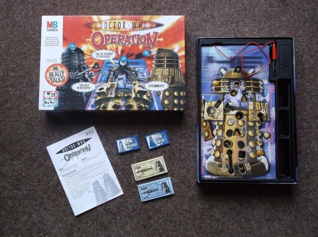 Doctor Who Operation Game BBC MB Games Excellent