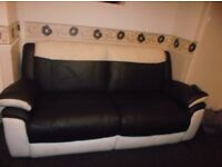 Modern 3 seater and 2 seater sofa's for sale.