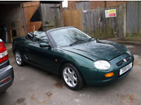 MGF 1.8VVC SOFT TOP IN RACING GREEN