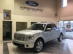 2014 Ford F-150 Limited, EcoBoost, Tonneau Cover, ACCIDENT FREE