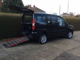 2009 (59) Fiat Doblo 1.4 8v Dynamic 5dr Wheelchair Acccess Vehicle, Genuine 19,000 Miles