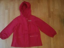 DKNY Girls Red Spring Jacket Age 4