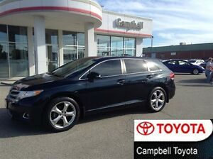2013 Toyota Venza HEATED BLACK LEATHER DUAL MOON ROOF