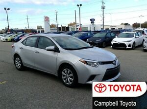 2015 Toyota Corolla LE LOCAL TRADE---HEATED CLOTH---REAR CAMERA Windsor Region Ontario image 1