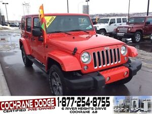2016 Jeep WRANGLER UNLIMITED Sahara w/REMOTE START AND NAVIGATIO