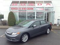 2012 Honda Civic EX * Mags * Toit-ouvrant * Cruise * Bluetooth
