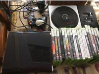 Xbox 360 console and bulk games