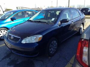 2005 Toyota Corolla CE W/AC  * ONE ONWER CAR, CLEAN CARPROOF*
