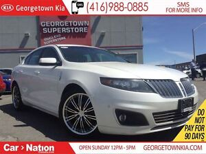2011 Lincoln MKS EcoBoost | NAVI | ROOF | ALL WHEEL DRIVE |