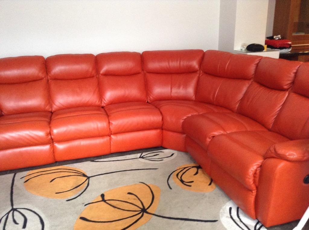 Leather Corner Suite In Kilmarnock East Ayrshire Gumtree