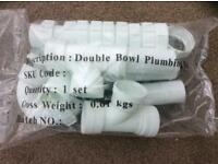 Double Bowl Plumbing Kit