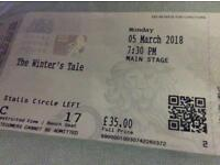 The Winters Tale. The Royal opera house
