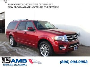 2016 Ford Expedition Limited 301A DVD Moonroof Navigation SYNC 3