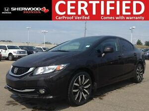 2013 Honda Civic Touring | REMOTE START | HEATED LEATHER | NAVI