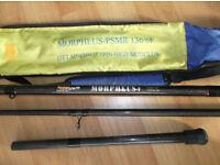 Morpheus-F 13.5ft + 1.5ft extension carbon beachcaster for multiplier reels