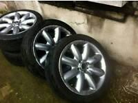 Mini one 4 wheel with good tyres