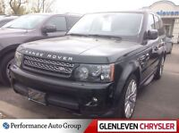 2012 Land Rover Range Rover Sport HSE, 4x4, Off Lease, Black Bea