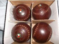 Set of four brown Thomas Taylor Lingnoid Bowls £20