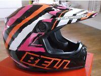Brand New - Boxed Bell Tagger Scrub Mx9 MotoX - ATV - Helmet in Size XL - Motocross - Quad.