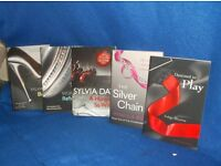 COLLECTION OF ADULT EROTIC BOOKS....SYLVIA DAY CROSSFIRE SET OF FIVE BOOKS...PLUS LOTS MORE SETS