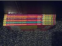 6 my naughty little puppy books