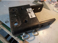 Landrover Discovery adjustable tow plate