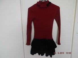 GIRLS DESIGNER DRESSES X 5. AGE 5-7